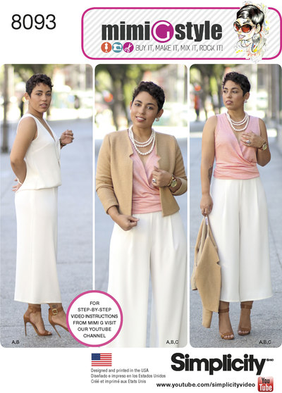 Nederdel, jakke, top - Mimi G style