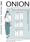 Ny udgave af den nok så populære posebuks, her med dobbeltlags formskåret hoftestyke.