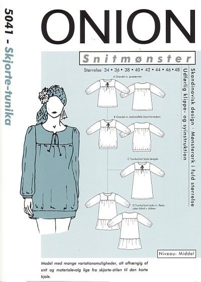 Skjorte-tunika