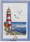Permin 92-2307. Wall embroidery Lighthouse.