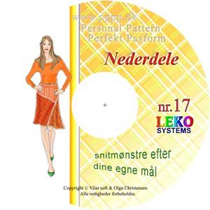 CD-rom nr. 17 - Nederdele