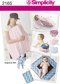 Babytæppe,babybuks. Simplicity 2165.