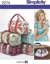Rejsetasker, duffelbags. Simplicity 2274.