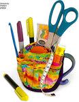 Organisering af blyanter og sakse