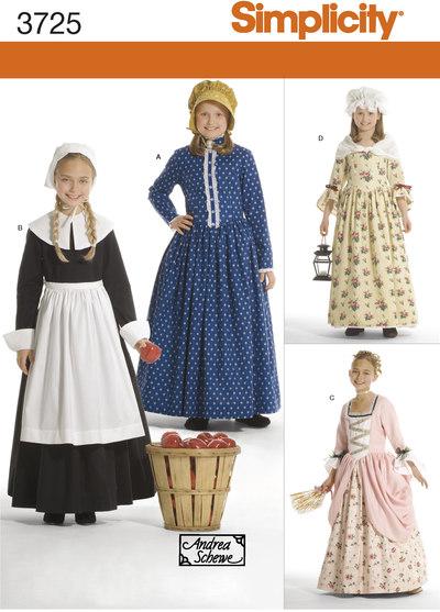 Amish, klassiske kjoler, 1700-1800 tals