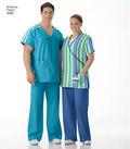 Unisex uniform, scrub toppe og bukser