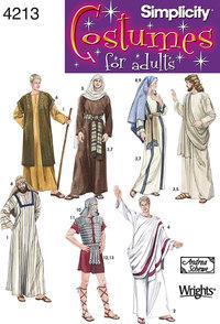 Romertid, messias udklædning. Simplicity 4213.