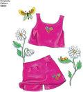 Dukketøj 45 cm, smækbukser, frakker, shorts, kjoler