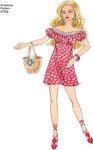 Dukketøj 29 cm, kjoler, nederdele, toppe