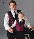 Veste og slips