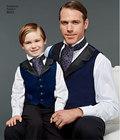 Vest og slips til mand og barn