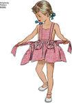 Korte kjoler med flæseærmer