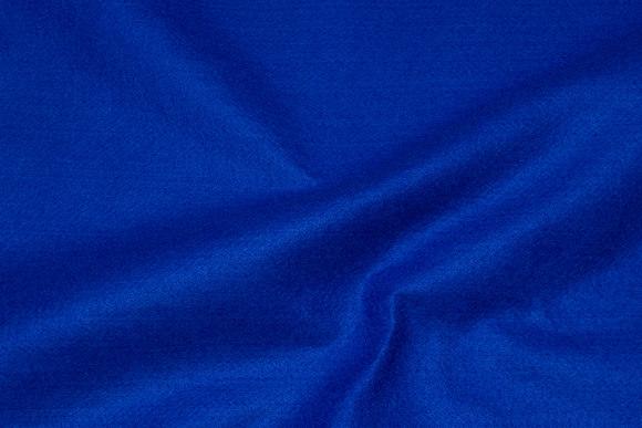 Coboltblå hobby-filt i 180 cm bredde