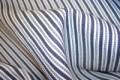 Madrasstribet eller mælkedrengestrib. 100% bomuld, lækker blød sanforiseret - til bukser, anorakker, betræk, forklæder, m.m.