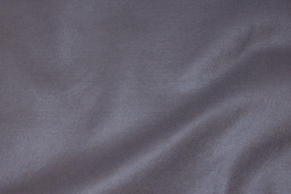 Musegrå hobby-filt i 180 cm bredde