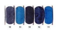 Nervøs velour i blå farver