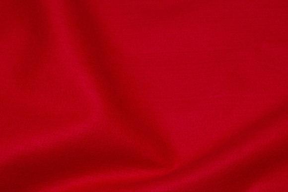 Rød hobby-filt i 180 cm bredde