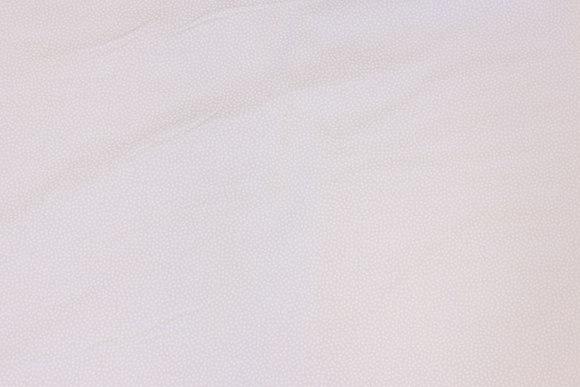 Hvid patchwork-bomuld med minimønster