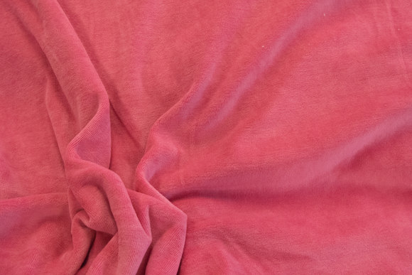 Stræk velour - pink