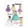 Butterick 6336. Retro outfits til stor dukke.