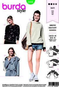 Sweater. Burda 6406.