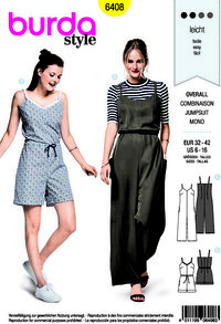 Jumpsuit. Burda 6408.