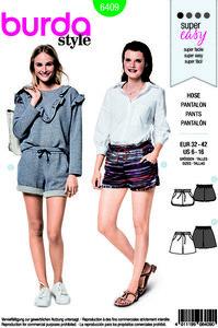 Shorts. Burda 6409.