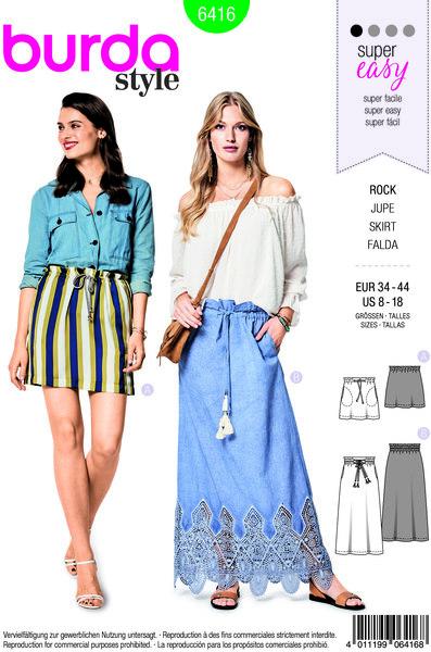 Nederdel med bindebånd