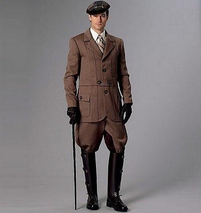 Jakke, historiske bukser