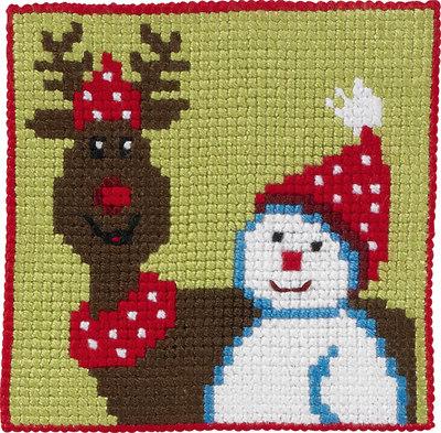Rensdyr og snemand, børnestramaj