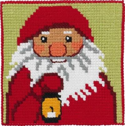 Julemand med lampe, børnestramaj