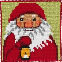 Julemand med lampe, børnestramaj. Permin 9242.