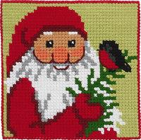 Julemand med kvist, børnestramaj. Permin 9244.
