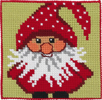 Julemand, børnestramaj. Permin 9245.