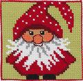 Permin 9245. Julemand, børnestramaj.