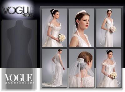 Headpieces, tiara og bridal veils