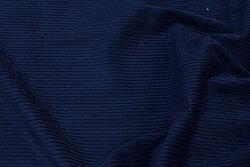 Bredriflet, marine buksefløjl i bomuld