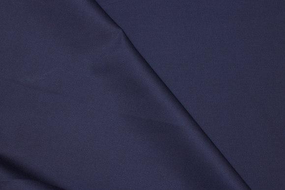 Bukse-stretchtwill i mørk marine