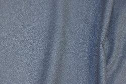 Grå patchwork-bomuld med diskret mønster