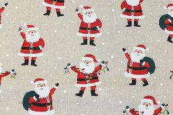 Hørlook med ca. 8 cm julemænd
