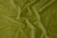 Kiwigrøn strækvelour