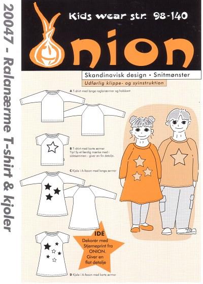 Raglanærme T-shirt og kjoler