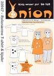 Onion 20047. Raglanærme T-shirt og kjoler.