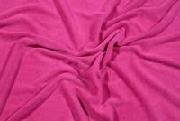 Pink strækfrotté i flot kvalitet