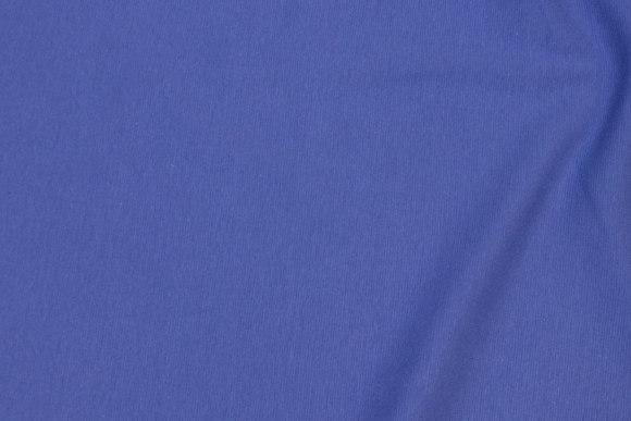 Rib-stof i dueblå