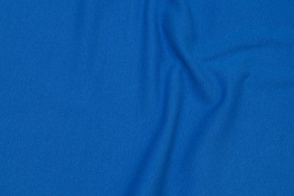 Rib-stof i husarblå