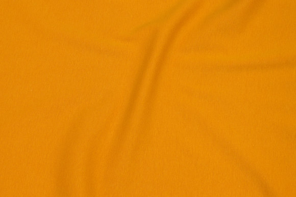 Rib-stof i mørk gul
