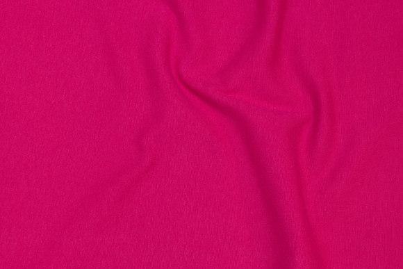 Rib-stof i pink