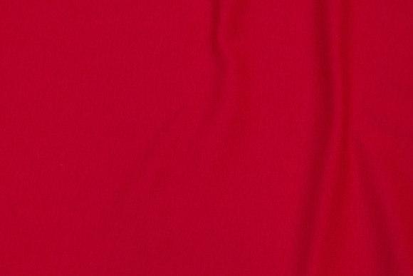 Rib-stof i rød