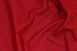 Rød patchwork-bomuld med nister